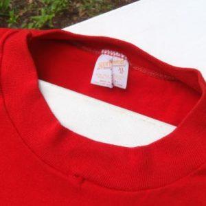 Vintage 1980s Barefoot Charlies Land O Lakes WI T-Shirt L/XL