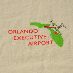 Vintage 1996 Orlando Executive Airport T-Shirt