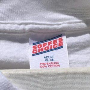 Vintage 1991 Duke University NCAA Basketball White T-Shirt