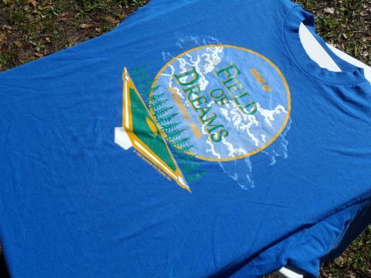 Vintage 1980s Field of Dreams Dyersville IA T Shirt XL