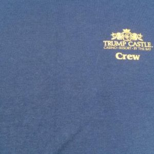 Vintage 1980s Billy Crystal Trump Castle Long Sleeved T-Shirt