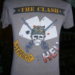 The Clash straight hell 1984 sz M