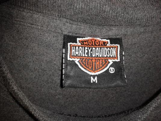 VINTAGE HARLEY DAVIDSON 3D EMBLEM 91
