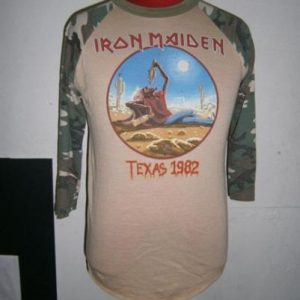 iron maiden the beast tames texas 1982 sz L