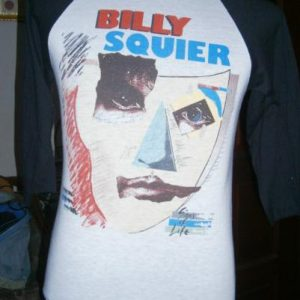 Vintage Billy Squier 1984