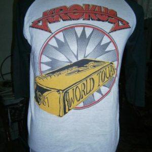 Vintage krokus World Tour 1981