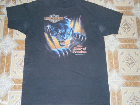 VINTAGE T-SHIRTHARLEY DAVIDSON 3D EMBLEM 1992