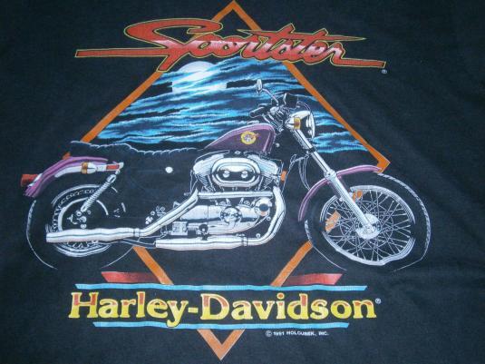 VINTAGE T-SHIRT HARLEY DAVIDSON 1991