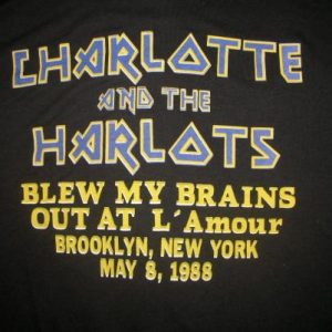 """Iron Maiden """"Charlotte and The Harlots"""" L'Amour Bklyn 1988"""