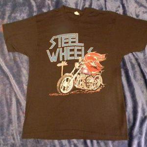 Vintage Rolling Stones 1989 Steel Wheels Bootleg T-Shirt