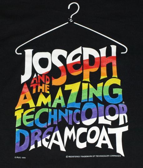Vintage Joseph & The Amazing Technicolor Dreamcoat T-Shirt