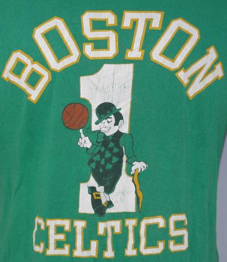 Vintage 1980's BOSTON CELTICS NBA Basketball T-Shirt 80s