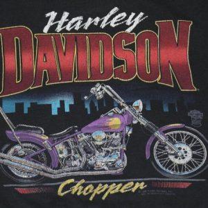 Vintage 1980s Harley Davidson Sweatshirt Biker Motorcylce