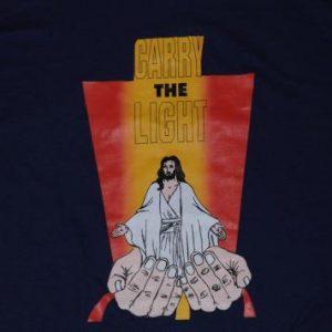 Vintage 1990's Jesus Christianity God T-Shirt Purple