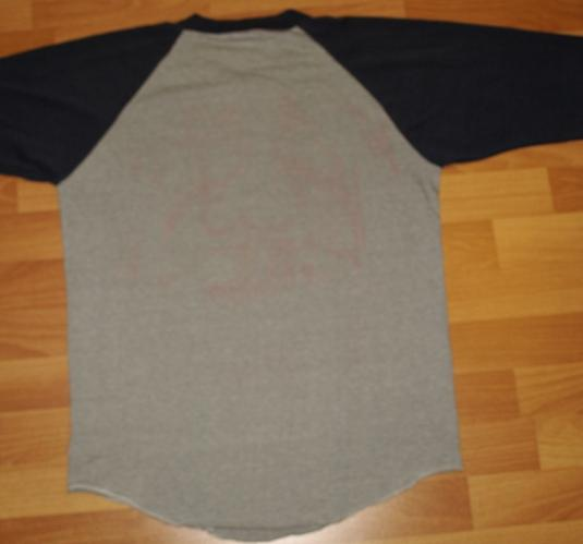 Vintage 1981 Barry Manilow Raglan Tour Shirt 1980s