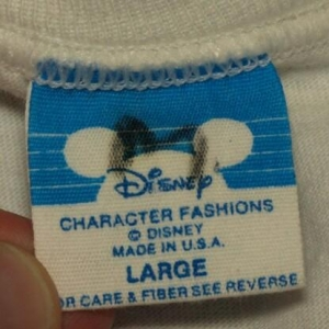 Vintage 1988 Mickey Mouse 60th Birthday T-shirt 1980s