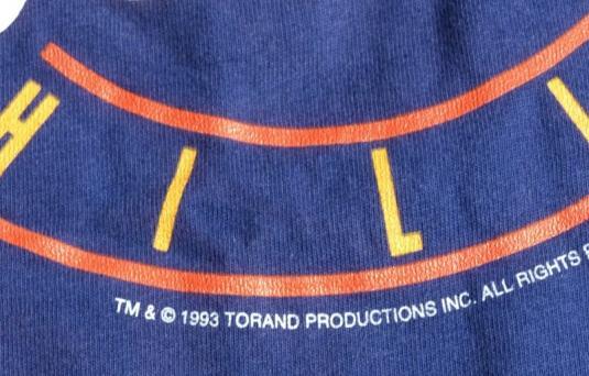 Vtg 1990s 1993 Beverly Hills 90210 T Shirt Purple NEVER WORN