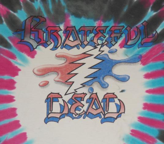 Vintage 1990s GRATEFUL DEAD Buzz Parker Art GDM T-Shirt
