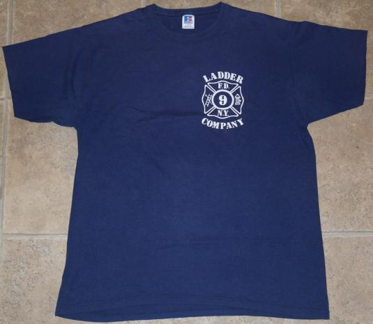 Vintage 1980s FDNY Fire Fighter NEW YORK CITY T-Shirt
