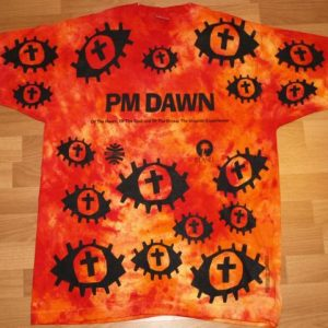 Vintage 1991 PM DAWN The Utopian Experience Promo T-Shirt