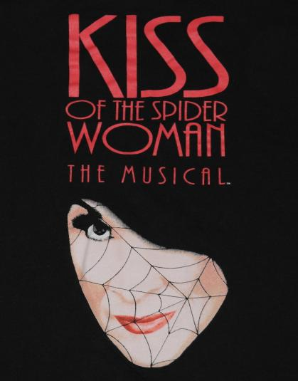 Vintage 1990s KISS OF THE SPIDER WOMAN T-Shirt