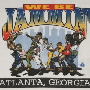 Vintage 90s Atlanta Georgia Hip Hop Dance Rap Jammin T-Shirt