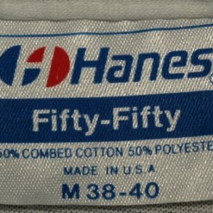 Vintage 1980s Tennis Costume Sneaker US Open T Shirt