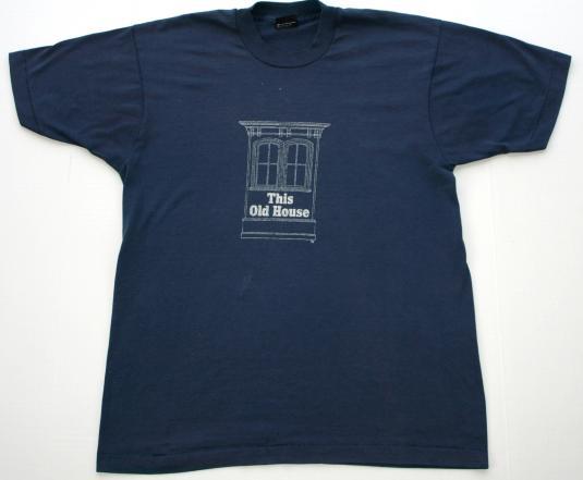 Vintage Bob Vila This Old House T Shirt
