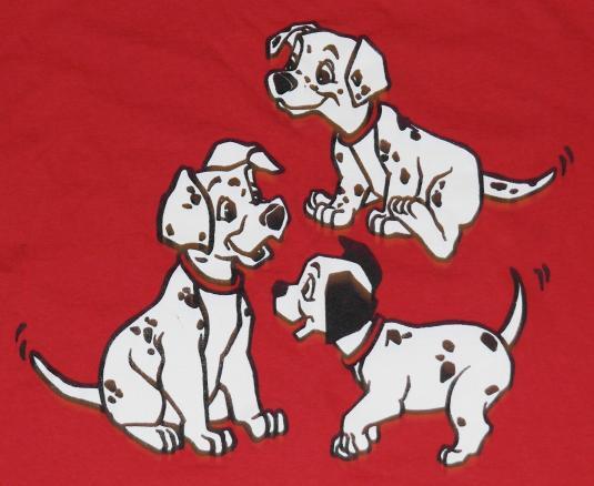 Vintage 1980s Disney 101 Dalmatians T-Shirt Never Worn