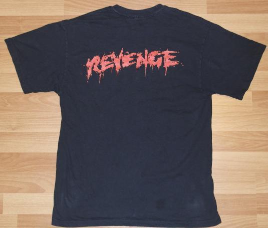 Vintage 1993 KISS Revenge Concert Tour 1990s T-Shirt