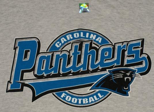 Vintage 1990's Carolina Panthers T-Shirt 90's Deadstock NFL