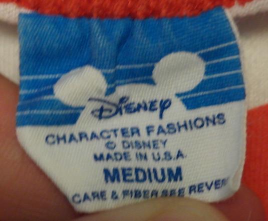 Vintage 1980s Walt Disney GOOFY Raglan T-Shirt