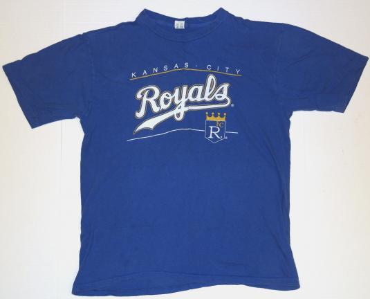 Vintage 1980s Kansas City Royals Baseball T-shirt 80s