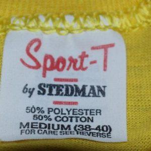 Vintage 1980s Clark's Gym Melbourne Florida Tee T-Shirt 80s