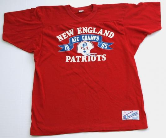 1985 CHAMPION New England Patriots Jersey Shirt