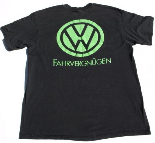 1990 VW Volkswagon Fahrvergnugen Car Show T Shirt