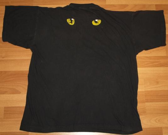 Vintage 1981 CATS London Andrew Lloyd Webber T-Shirt
