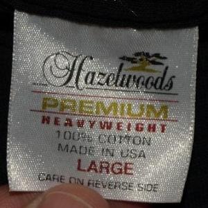 Vintage Armadillo Moon Wrap Around T-Shirt 1990s Black