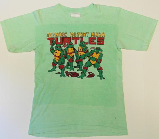 Vintage TMNT Teenage Mutant Ninja Turtles Comic T-Shirt ORIG