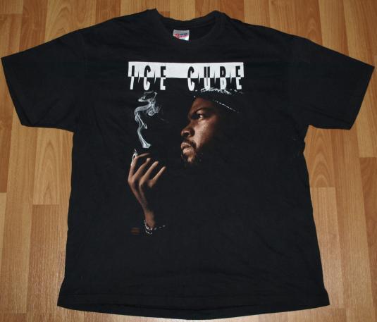 Vintage ICE CUBE The Predator N.W.A. Rap Hip Hop T-Shirt OG