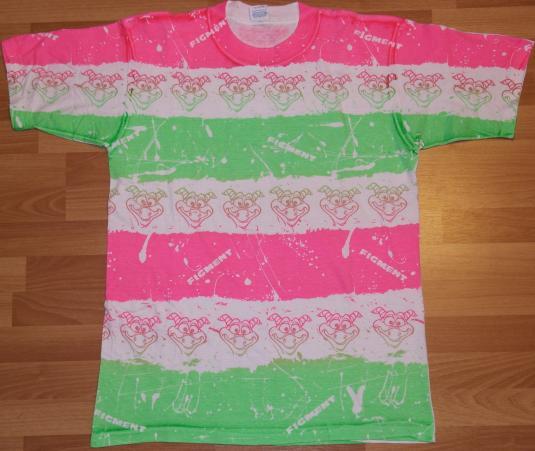 Vintage 1980s WALT DISNEY World Epcot FIGMENT T-Shirt