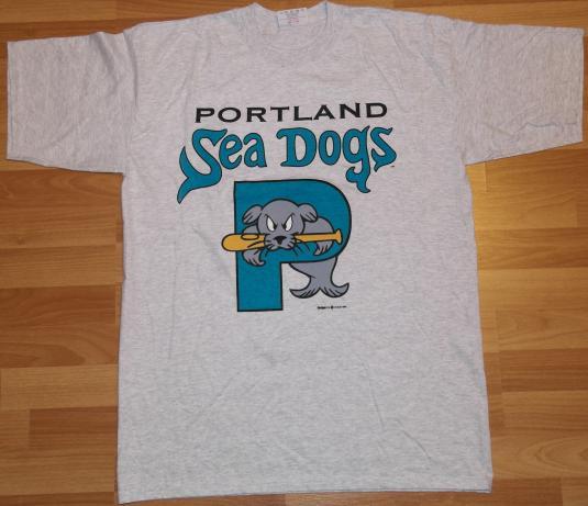 VTG 1990s Portland Sea Dogs Minor League Baseball T-Shirt