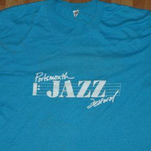 Vintage 80s Portsmouth Jazz Festival Heineken Beer T-Shirt
