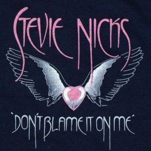 Vintage 1983 STEVIE NICKS Concert Tour T-Shirt 1980s