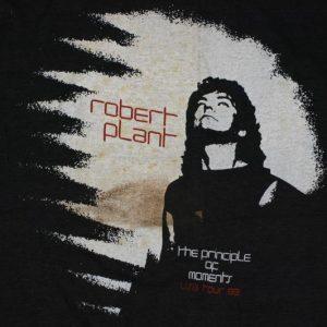 Vintage 1983 ROBERT PLANT Led Zeppelin Concert Tour Shirt