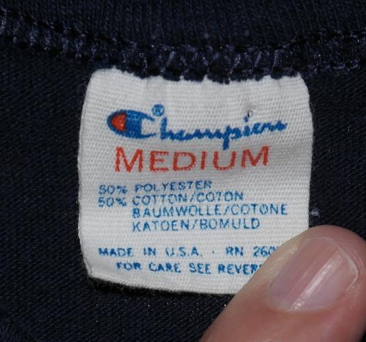Vintage 1980s CHAMPION Brand NEW YORK YANKEES T-Shirt