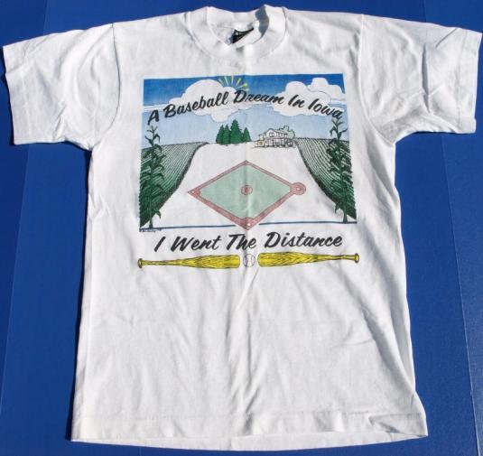 Vintage 80s FIELD OF DREAMS Movie Shirt IWOA Baseball Shirt
