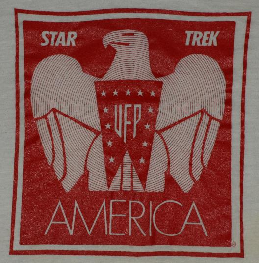 Vintage 1970s STAR TREK United Federation of Planets T-Shirt