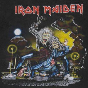VTG Iron Maiden No Prayer The Dying Original Tour T-shirt