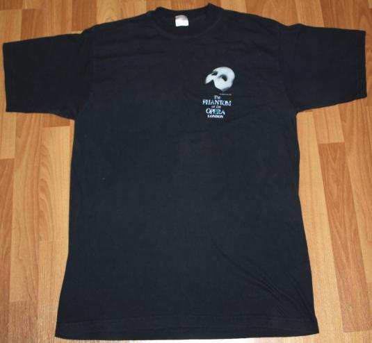 Vintage 1980s Phantom Of The Opera London T-Shirt